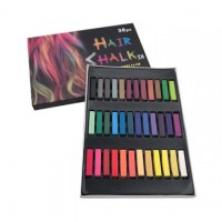 Set of 36 Non Toxic Hair Chalk